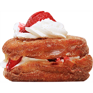 strawberry cronut